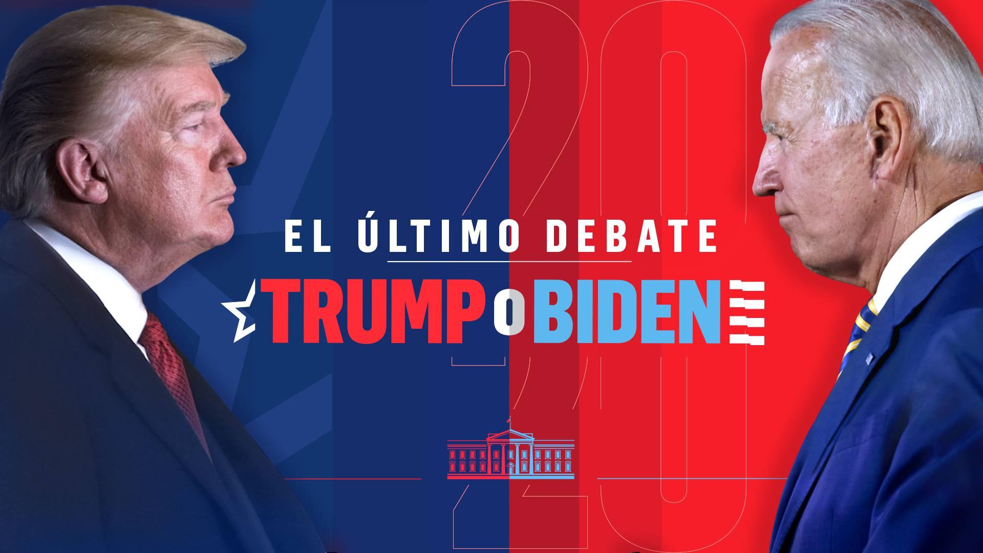 Elecciones estadounidenses: ¿Quién ganó el último debate entre Joe Biden y Donald Trump?