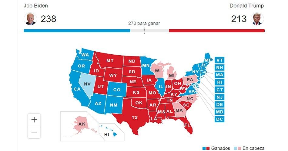 """""""Francamente, ganamos estas elecciones"""", aseguró Donald Trump al denunciar fraude"""