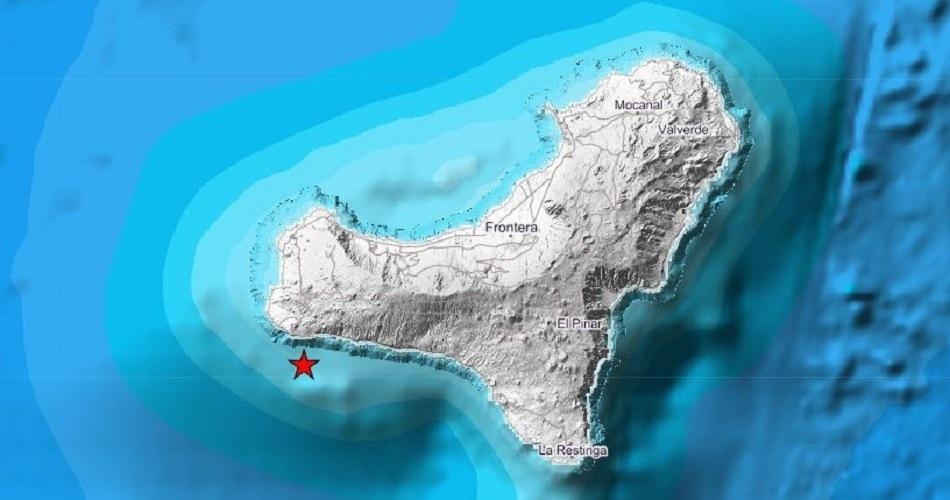 El IGN registra un sismo al sureste de El Hierro