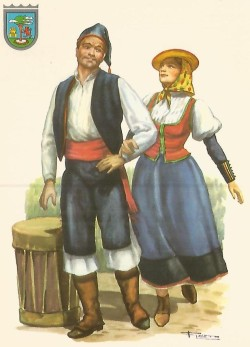 traje típico El Hierro