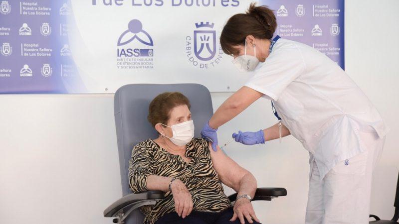 Vacunacion Canarias