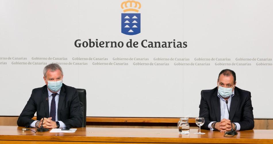 Canarias coordina con los operadores de transporte los desplazamientos seguros entre islas durante la Semana Santa