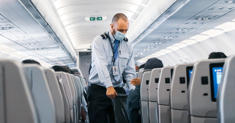 La capacidad de asientos del sector de la aviación civil ha caído a niveles de 2003