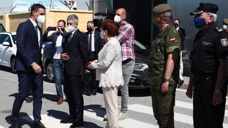 Visita del Presidente a Ceuta